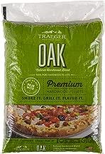 Traeger Grills PEL310 Oak 100% All-Natural Hardwood Pellets Grill, Smoke, Bake, Roast, Braise and BBQ, 20 lb. Bag