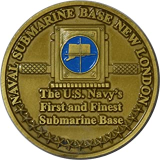 Naval Submarine Base, New London Challenge Coin