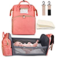 Deals on Zounich 5-in-1 Travel Bassinet Foldable Baby Bed