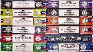 Satya 12 Pack Assorted Pack 15 Gram x 12 Packs 1ST