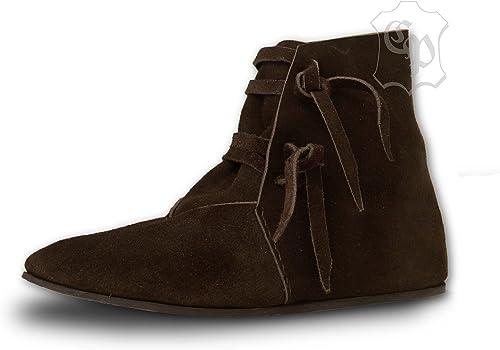 CP Abenteuer Mittelalter Schuhe Dunkelbraun
