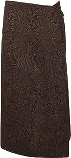 Victoria Beckham Luxury Fashion Womens SKMID31001BBROW Brown Skirt | Fall Winter 19