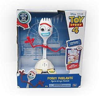 Disney Toystory Talking Dlx Forky 9 inch B/O, White, 64456