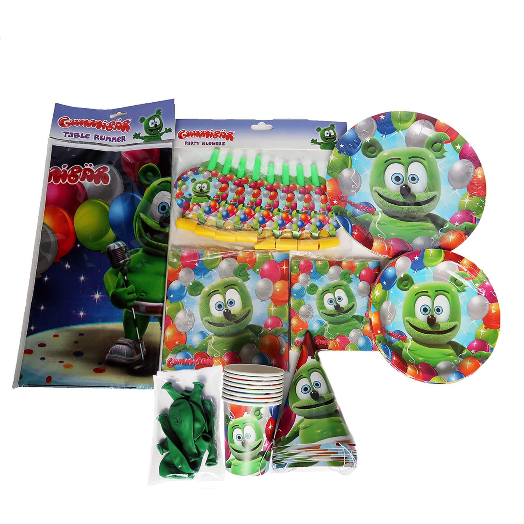 Phenomenal Amazon Com Gummibar The Gummy Bear Birthday Party Supplies Funny Birthday Cards Online Benoljebrpdamsfinfo