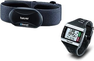 Beurer 676.29 Onpack - Transmisor de frecuencia cardíaca para Smartphones y pulsómetro, Color Gris