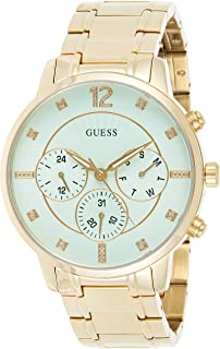GUESS Women's watch Multi-function Display Quartz Movement steel Bracelet W0941L6