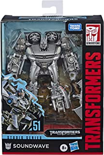 Transformers Toys Studio Series 51 Deluxe Class Dark of The Moon Movie Soundwave Action Figure - Kids Ages 8 & Up, 4.5