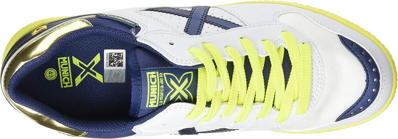 Munich Mens Football Track Shoe White