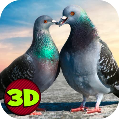 Pigeon Simulator: Flying Bird | City Bird Game| Ultimate Animal Sim Bird Adventure Escape Challenge