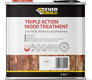 Sika Triple Action Wood Treatment Kills, Protects and Preserves