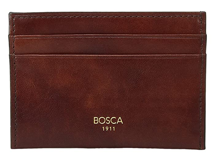 Bosca  Old Leather Collection - Weekend Wallet (Dark Brown Leather) Wallet