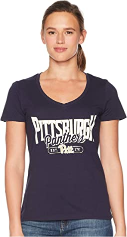 Pitt Panthers University V-Neck Tee