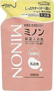 ミノン 薬用保湿入浴剤 詰替 400mL [医薬部外品]