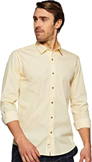 Louis Philippe Ath.Work Men's Printed Slim fit Casual Shirt