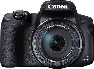كاميرا كانون باور شوت sx70 اتش اس 4 كيه الترا اتش دي، 20.3 ميجابكسل، لون اسود PSSX70HS