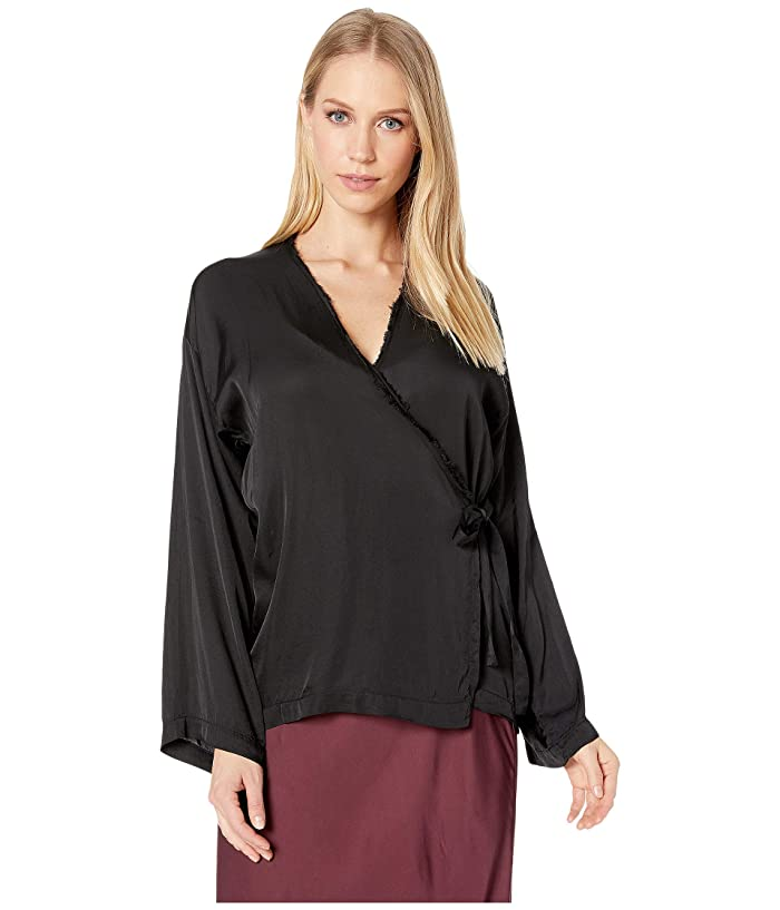CALi DREAMiNG Poet Top (Onyx Summer Luxe) Women's Blouse