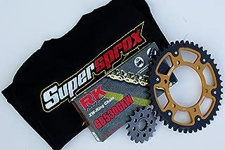 Supersprox Chain and Sprocket Set for Kawasaki Ninja ZX-14 (2012-2013)