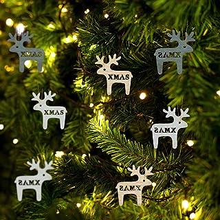 En bois Formes Décorations pour arbres de Noël Plain OS Ornements MDF ou contreplaqué