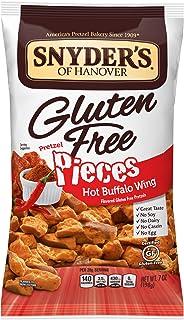 Snyder's of Hanover Gluten Free Pretzel Pieces, Hot Buffalo Wing, 7 Ounce Bag