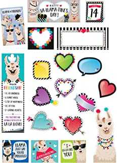 Creative Teaching Press Bold & Bright Happy Va-Llama-Tine's Day Mini Bulletin Board, CTP (3117)