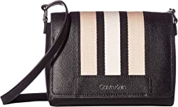 Clara Saffiano Leather Crossbody