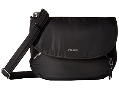 Pacsafe Stylesafe Anti-Theft Crossbody Bag (Black) Cross Body Handbags