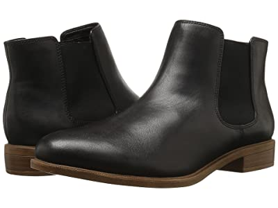 Clarks Taylor Shine (Black Leather) Women