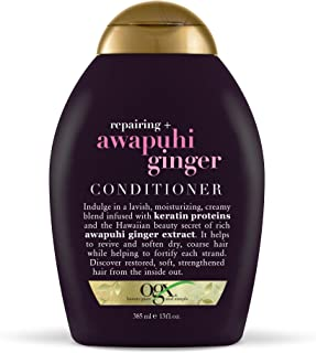 OGX Reparing + Awapuhi Ginger Conditioner, 13 Ounce
