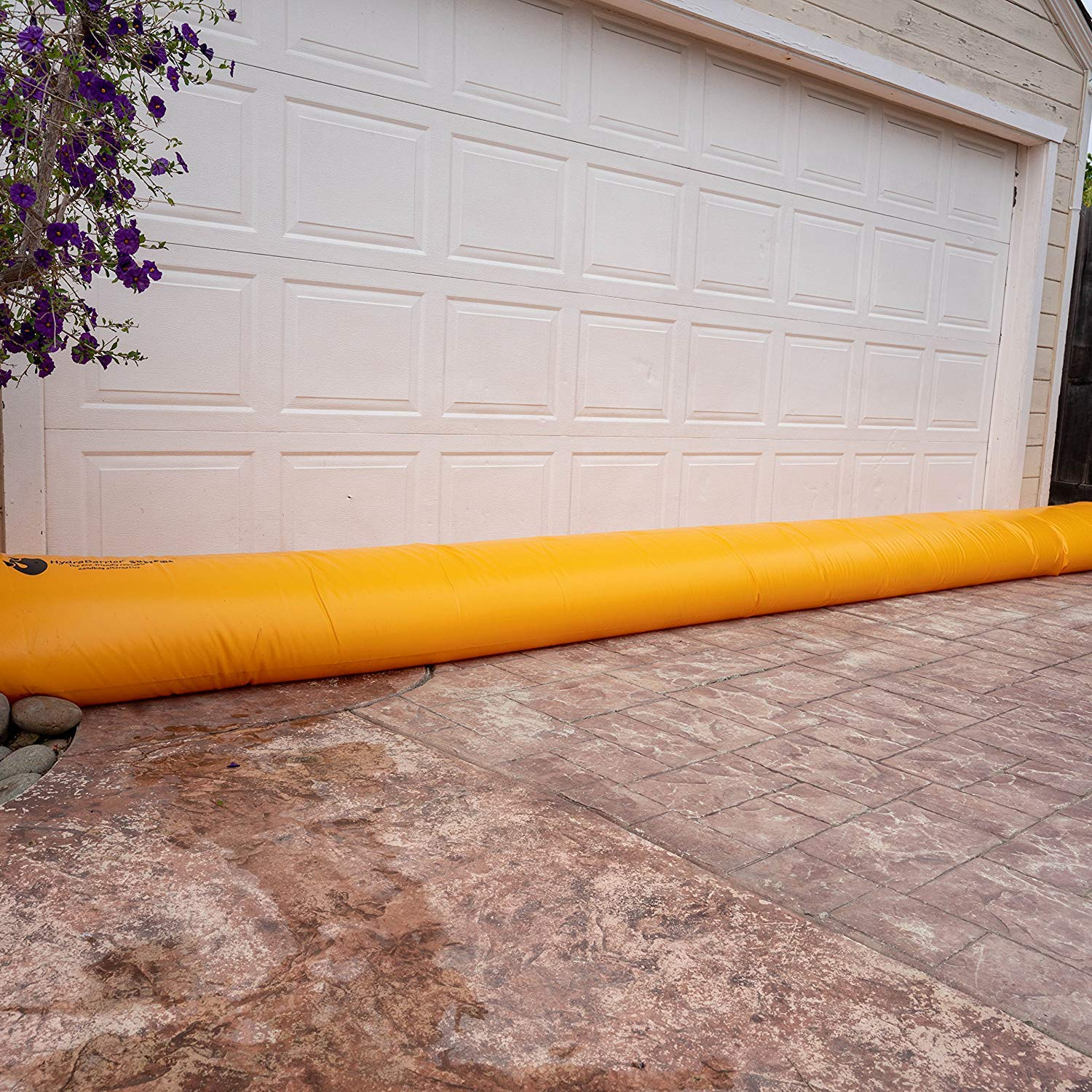 Best Sandbag Alternative Hydrabarrier Supreme 6 Foot Length 12 Inch Height Includes HydraFill Adapter Re-usable Single Unit - Water Diversion Tubes That are The Lightweight and Eco-Friendly