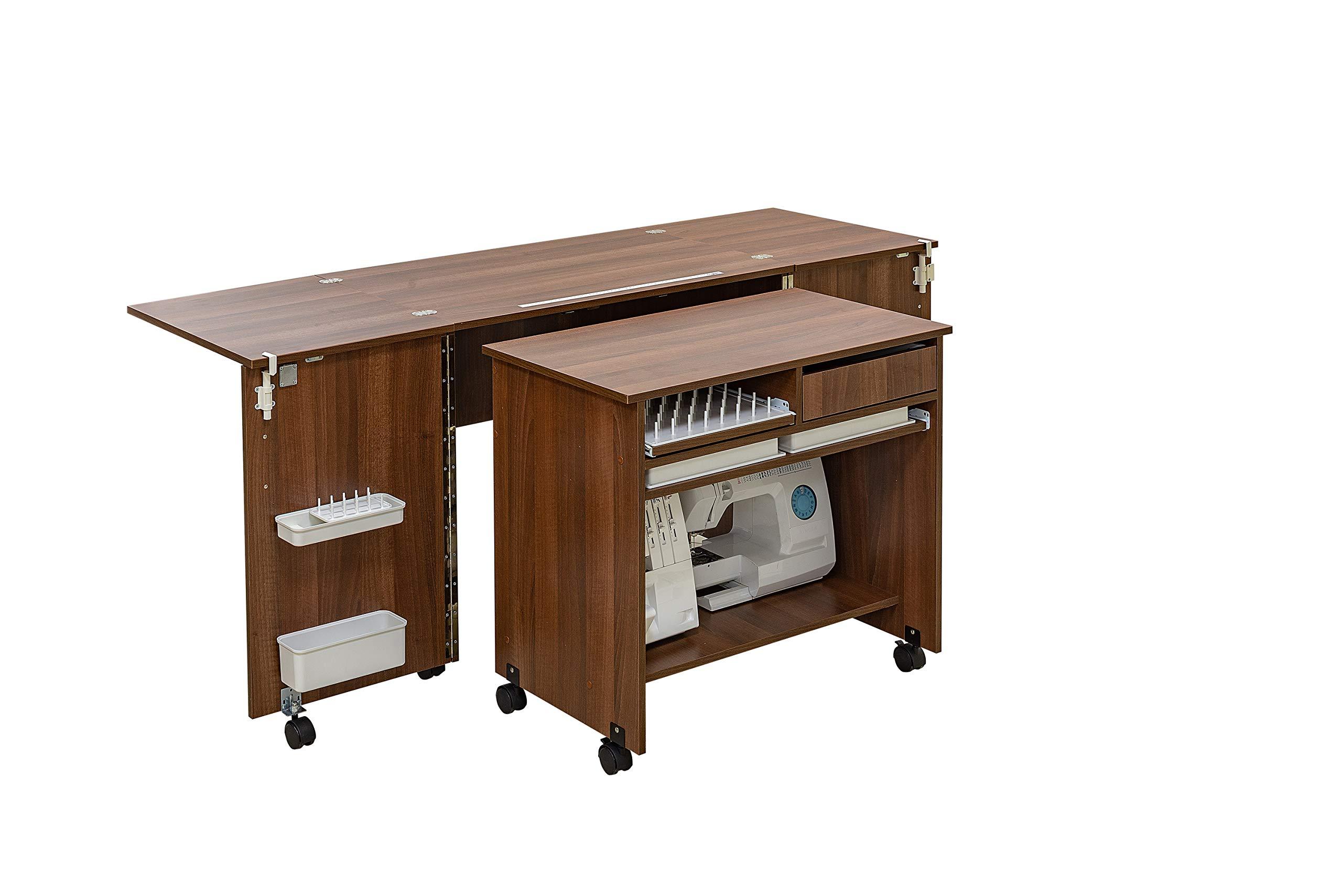 Comfort 7 | Mueble para máquina de coser | (Beech Ellmau): Amazon.es: Hogar