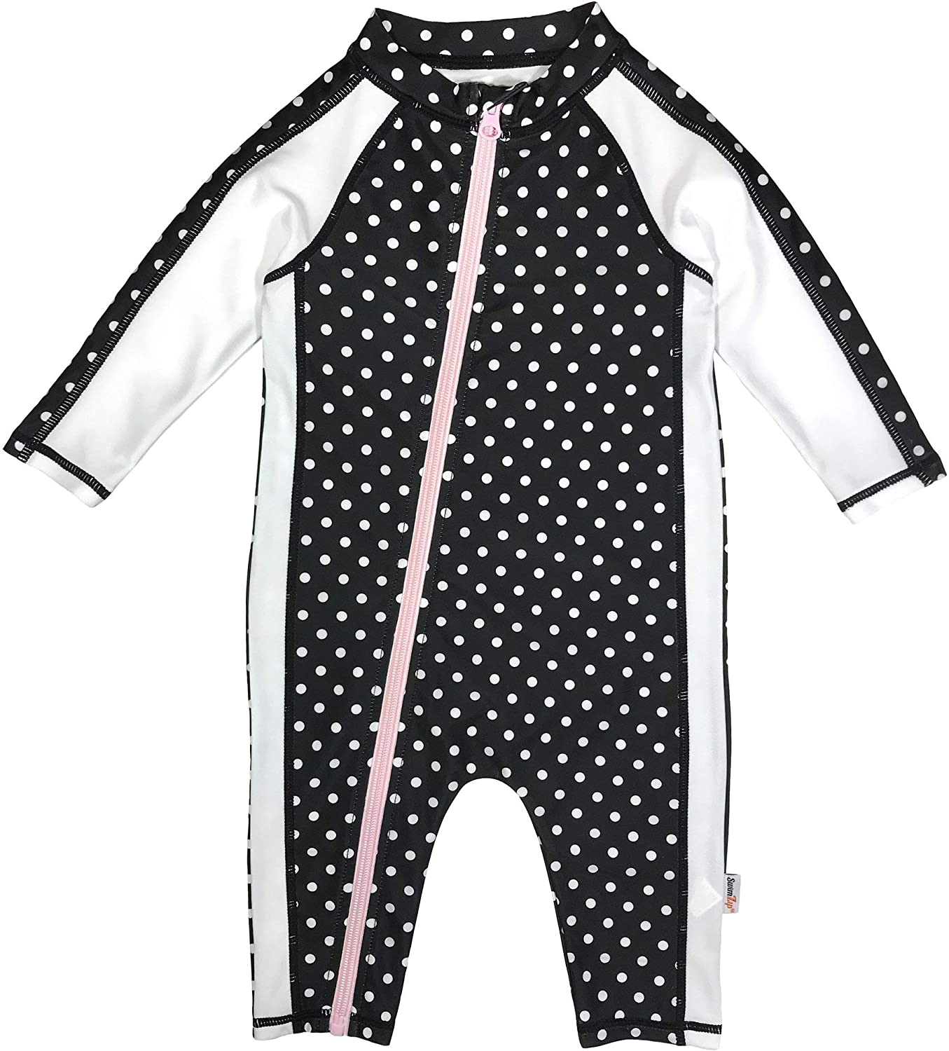SwimZip UPF 50+ Girls Long Sleeve Sunsuit (Multiple Colors): Clothing, Shoes & Jewelry