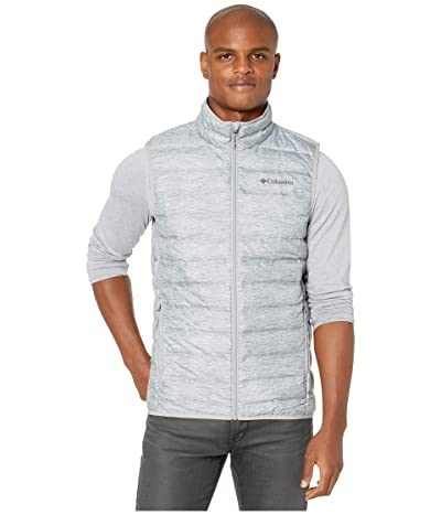 Columbia Lake 22tm Down Vest (Columbia Grey Heather Print) Men