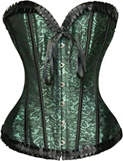 d0a14488cce Amazon.com  Greens - Bustiers   Corsets   Lingerie  Clothing