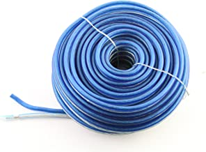 Bullz Audio (BPS12.25PB) PRO Platinum/Blue 25' 12-Gauge Speaker Cable