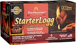 Best Pine Mountain StarterLogg Select-A-Size Firestarting Blocks, 24 Starts Firestarter Wood Fire Log for Campfire, Fireplace, Wood Stove, Fire Pit, Indoor & Outdoor Use (Packaging may Vary) Review