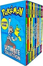 Pokemon Ultimate Collection Series Books 1-14 Set (Ash's Big Challenge, Pokemon Peril, Orange League, Scyther VS Charizar...
