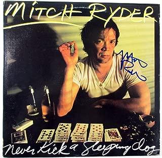 Mitch Ryder Signed LP Record Album Never Kick a Sleeping Dog w/ AUTO