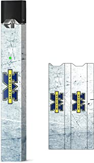 University of Michigan Skin Decal Vinyl Wrap for JUUL Vape Stickers (University of Michigan Marble)