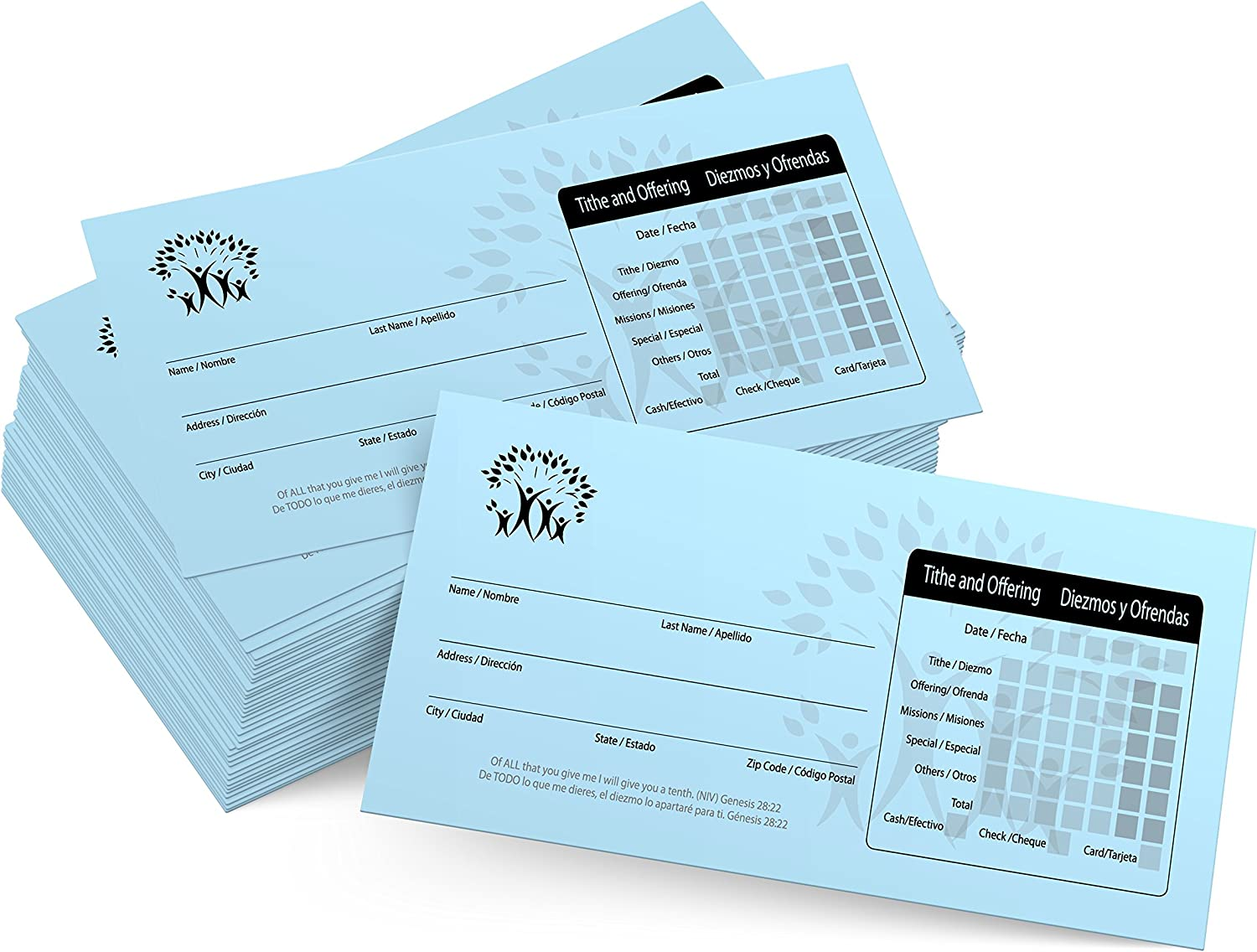 500 Church Offering Tithe Donation Envelopes Spanish sale Max 69% OFF
