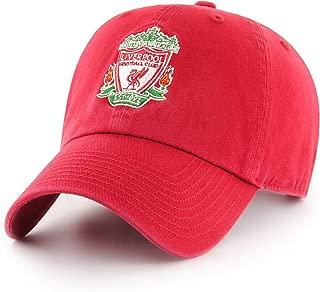 OTS English Premiership Liverpool Men's Challenger Adjustable Hat, Team Color, One Size
