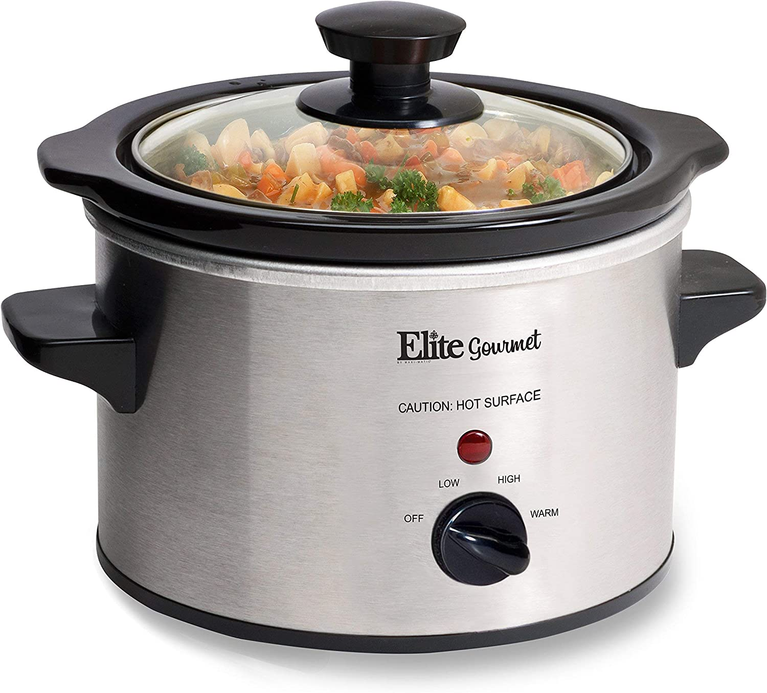 Elite Gourmet MST-250XS Weekly update Electric Slow E Cooker Adjustable Max 70% OFF Temp