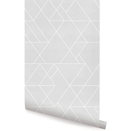 ScottDecor Geometric 3D Double-Sided AdhesiveWallpaper Comb Pattern with Dotted Lines Hexagonal Design Geometric Classical Motifs Summer Holiday Children Birthday Party Photo Studio Vermilion Cream