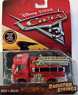 Cars 3 Deluxe Red Die-Cast Vehicle