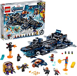 LEGO Marvel Super Heroes Avengers Helicarrier 76153 building set, Toy for Boys and Girls 9+ years old (1244 pieces)