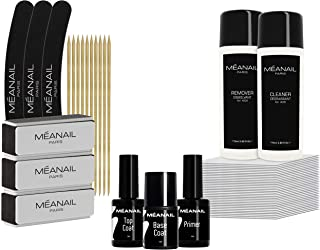 Kit Unghie Professionale Refill • Accessori Semipermanente Posa e Rimozione Smalto Semipermanente • Primer Base Top Coat •...