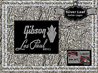 Gibson Les Paul Guitar Decal Headstock Waterslide Restoration logo 4s