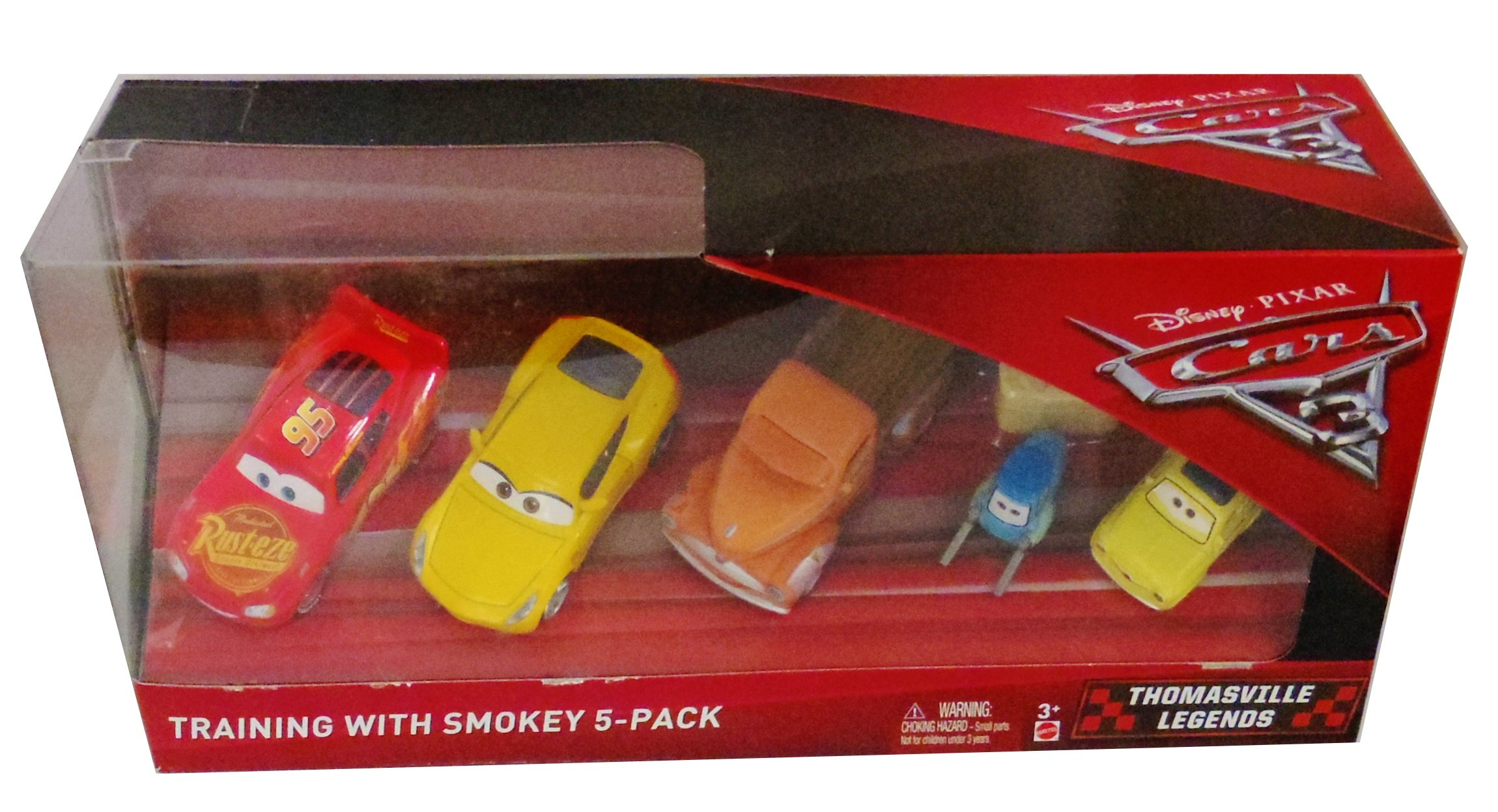 Disney Pixar Cars 3 - Training with Smokey 5 pack …: Amazon.es ...