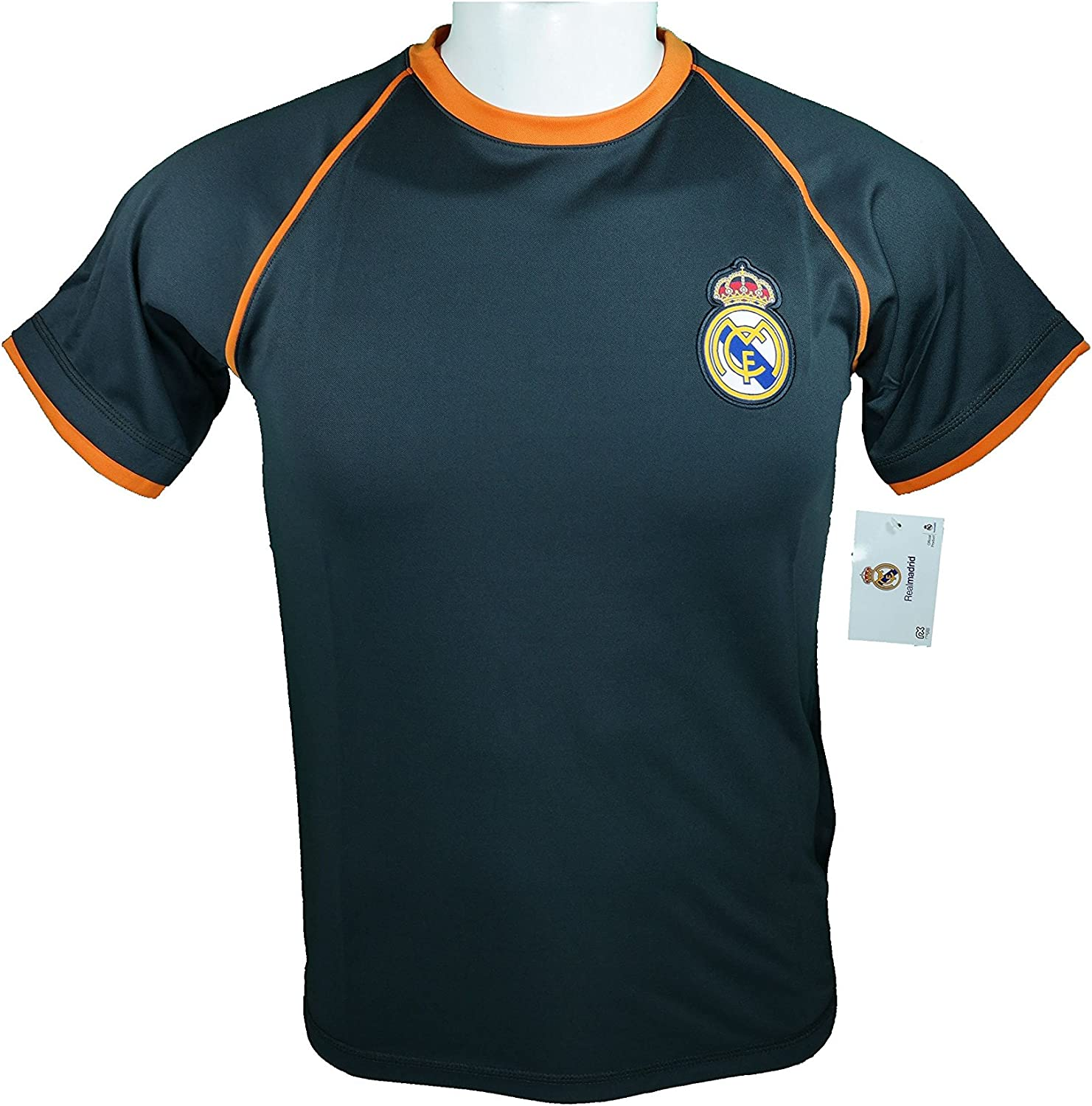 Real Madrid Soccer Official Youth Soccer Training Performance Poly Jersey P001
