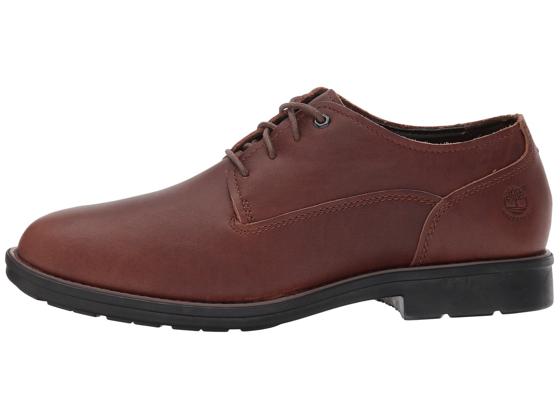 Timberland Men S Leather Oxford Shoes Dark Brown