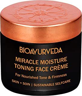 BIOAYURVEDA Miracle Moisture Toning Face Cream with Red Madder and Saffron Oil (4 oz)